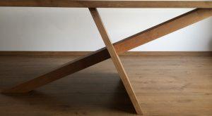 Asymmetrische tafel, 200 x 90